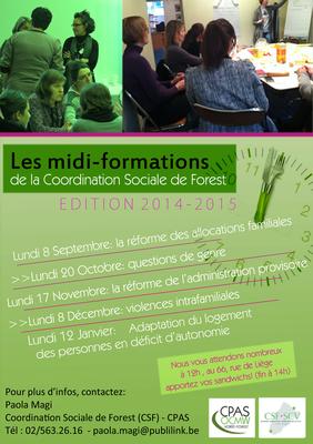 Midi-formation - Edition 2014 - 2015