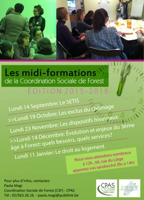 Programme Midi-formations Édition 2015-2016